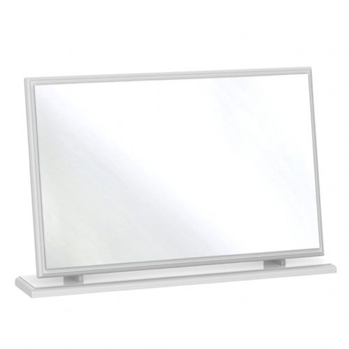 Balmoral White Gloss Large Mirror